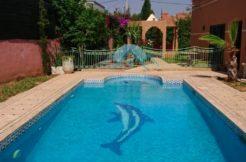 piscine villa route ourika