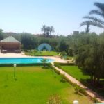 Piscine villa route Fes