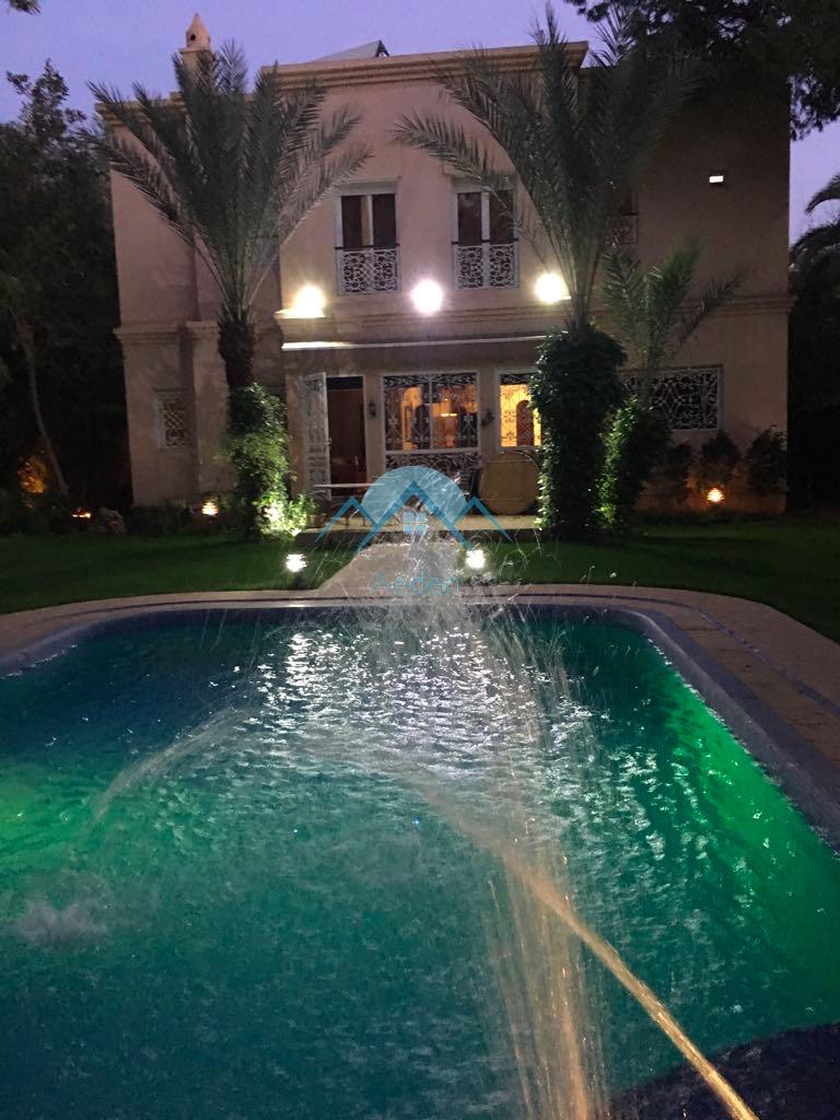 Marrakech Targa , Villa 1000 m