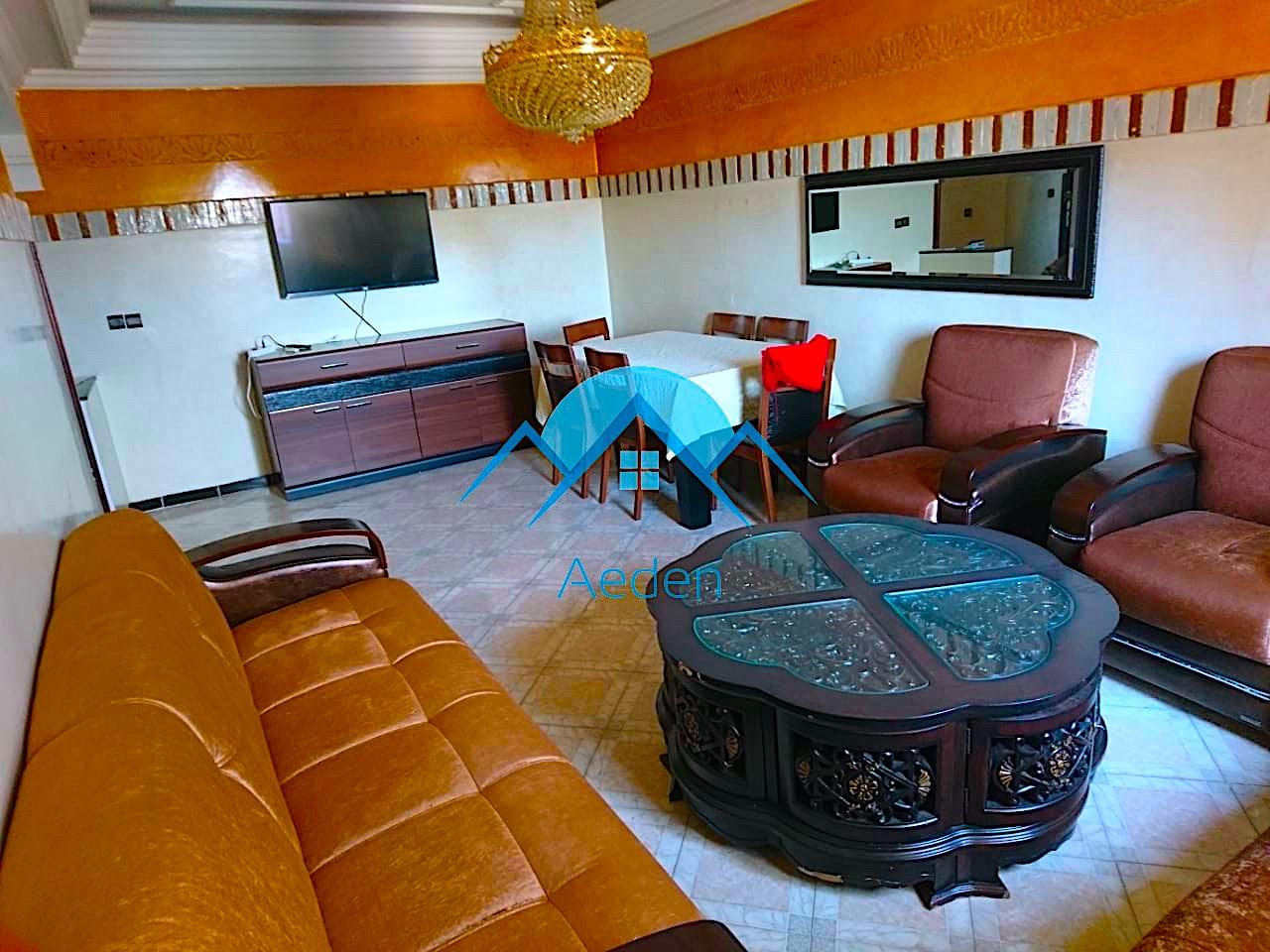 A louer, appartement de 100m Marrakech bd de Safi