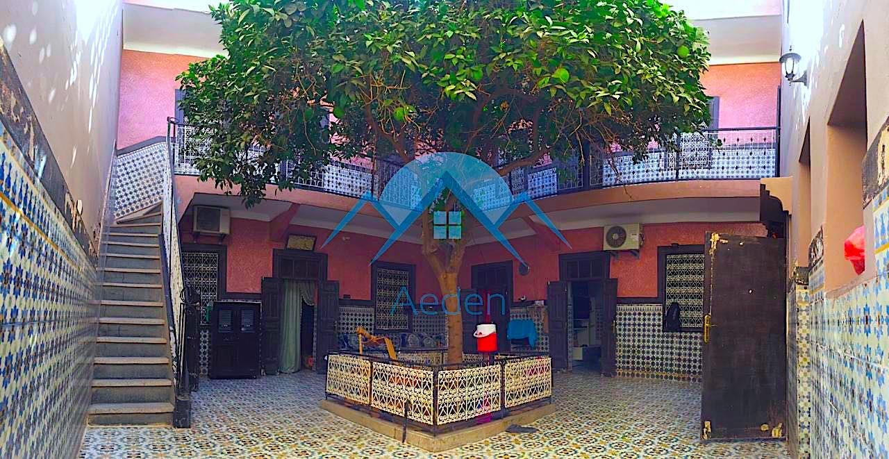 A vendre, Riad à Marrakech Bab doukkala