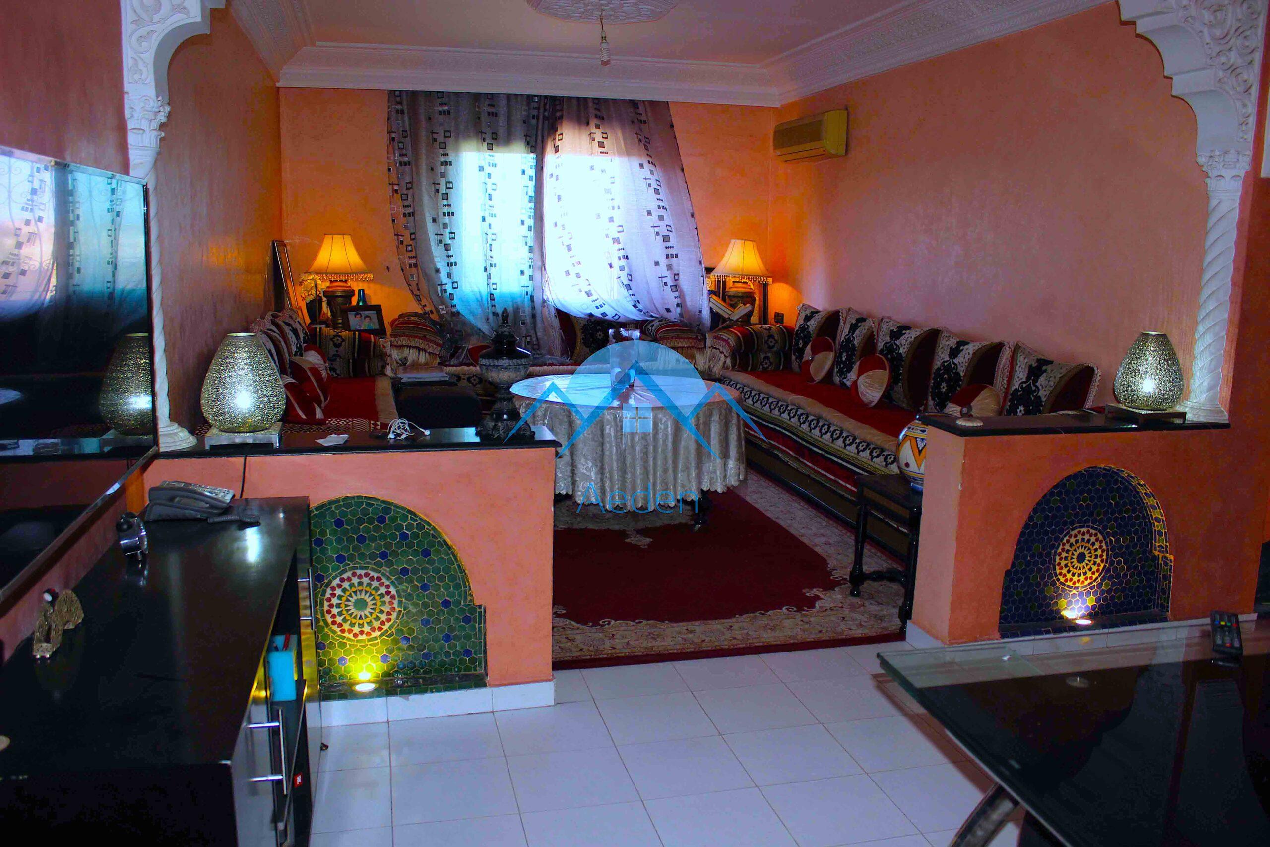 Appartement meublé en vente, Marrakech Massira