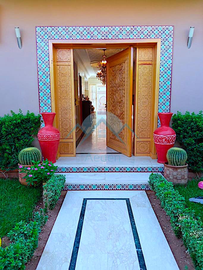Charmante villa à vendre – Marrakech Mhamid 9